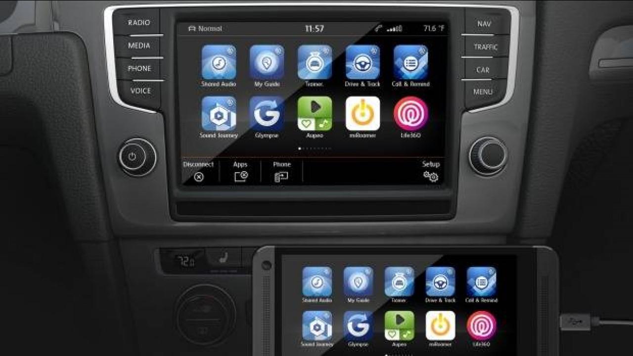 Volkswagen'in 2016 Modellerinde CarPlay desteği Olacak
