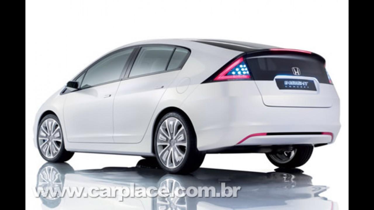 Exceptional Honda Insight Concept 2008   O Híbrido Da Honda Que Irá Competir Com O Prius