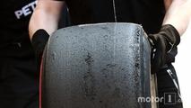 Mercedes AMG F1 Pirelli tyre
