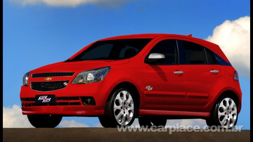 Chevrolet Agile terá kits Sport e Sunny