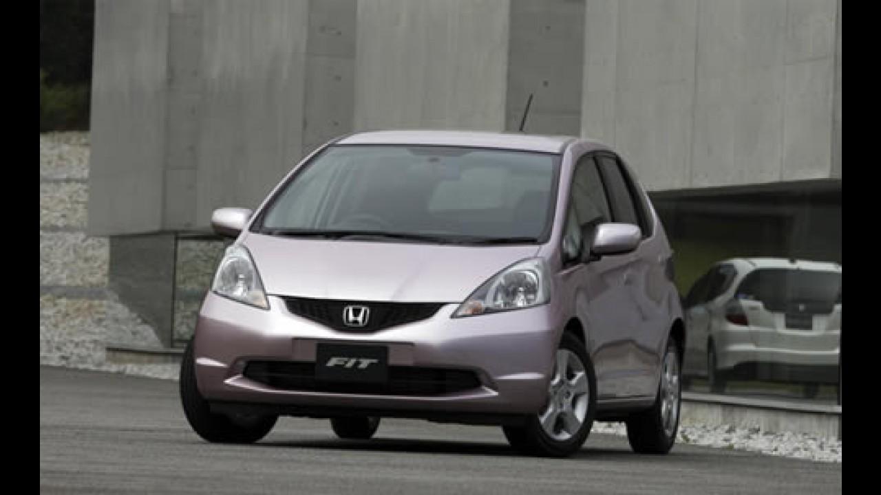 Honda prepara o Fit 1.5 Flex e câmbio CVT para 2008