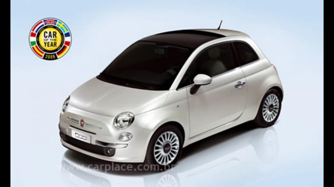 """Na Europa, Fiat 500 é eleito o """"Carro do Ano"""" 2008"""