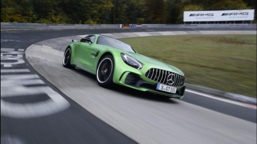 Mercedes-AMG GT R, quarta assoluta al 'Ring
