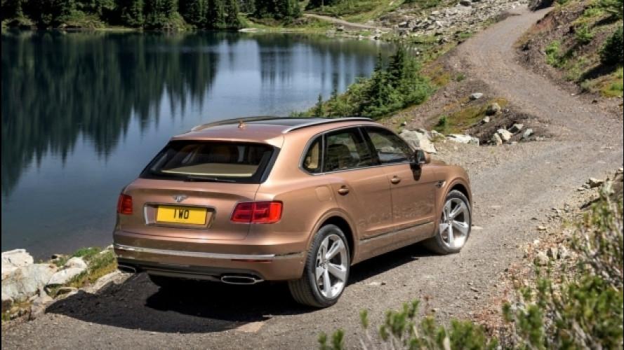 """Bentley Bentayga, prima il diesel e poi la versione """"small"""""""