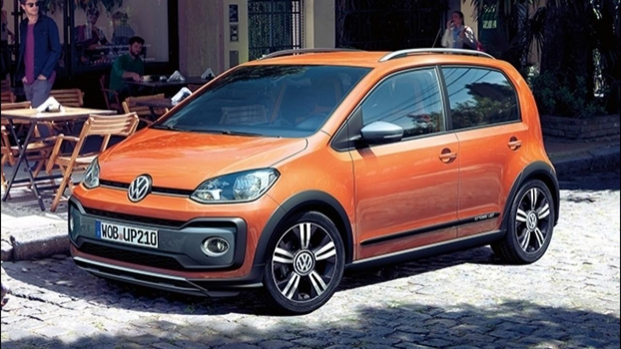 [Copertina] - Volkswagen cross up!, restyling in salsa offroad