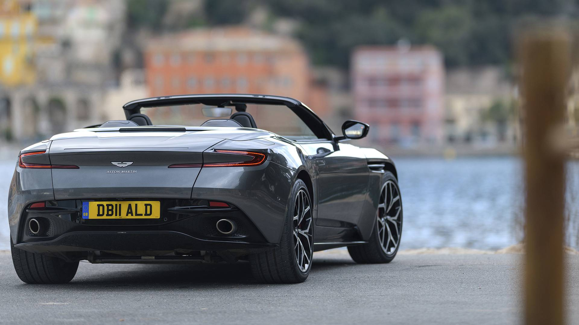 Aston Martin DB Volante First Drive Lost And Found - Aston martin volante
