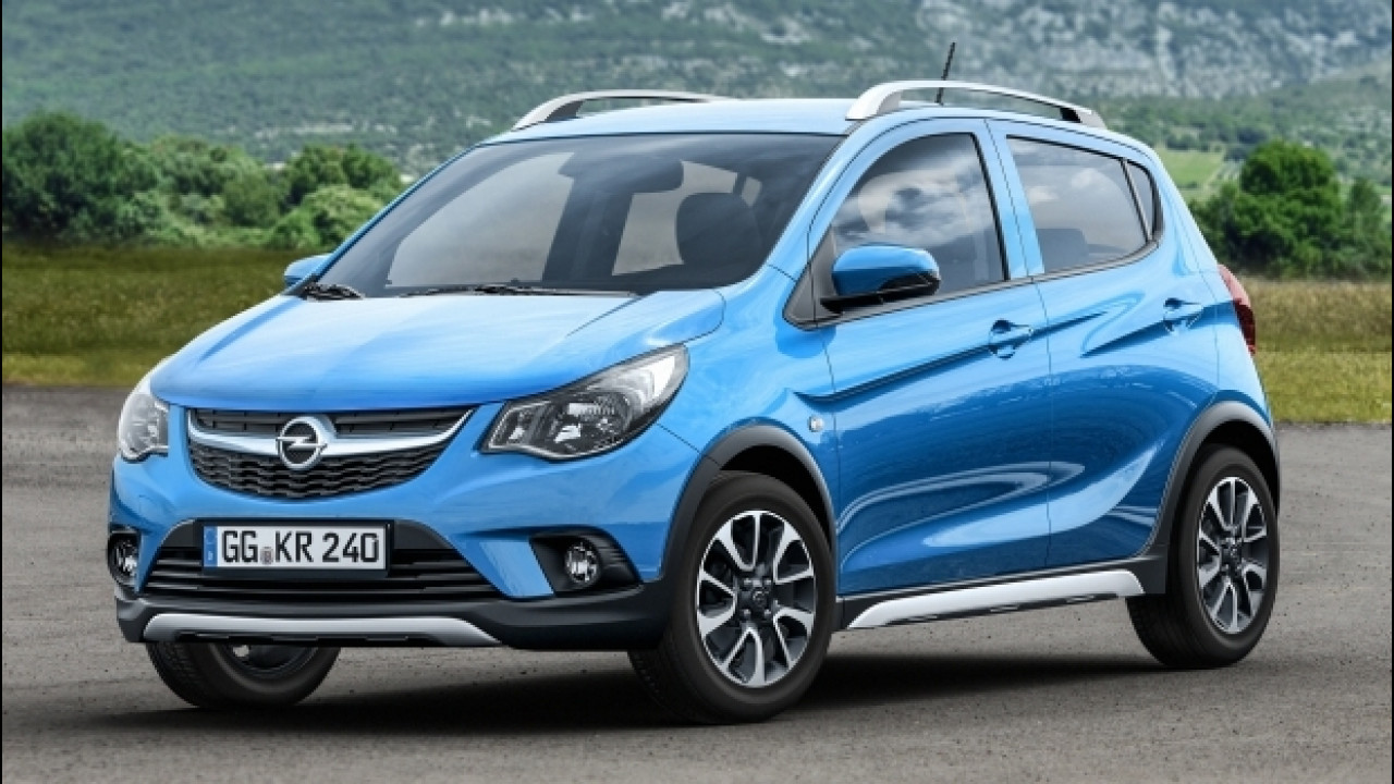 [Copertina] - Opel Karl Rocks, l'utilitaria si fa SUV