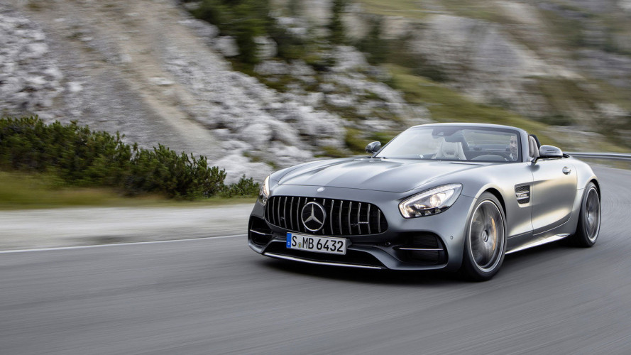 Mercedes-AMG GT Roadster, 557 CV per la GT C [VIDEO]