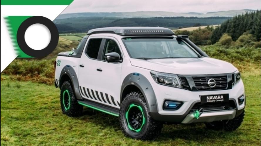 Nissan Navara EnGuard, un prototipo per chi lavora nei boschi