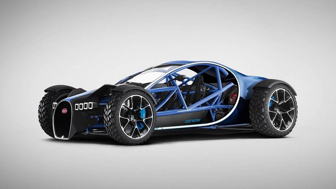 Ariel Chiron (Ariel Nomad + Bugatti Chiron)