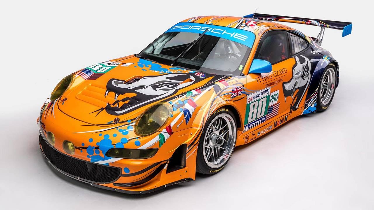 2009 Porsche 911 Rsr Art Car Motor1 Com Photos
