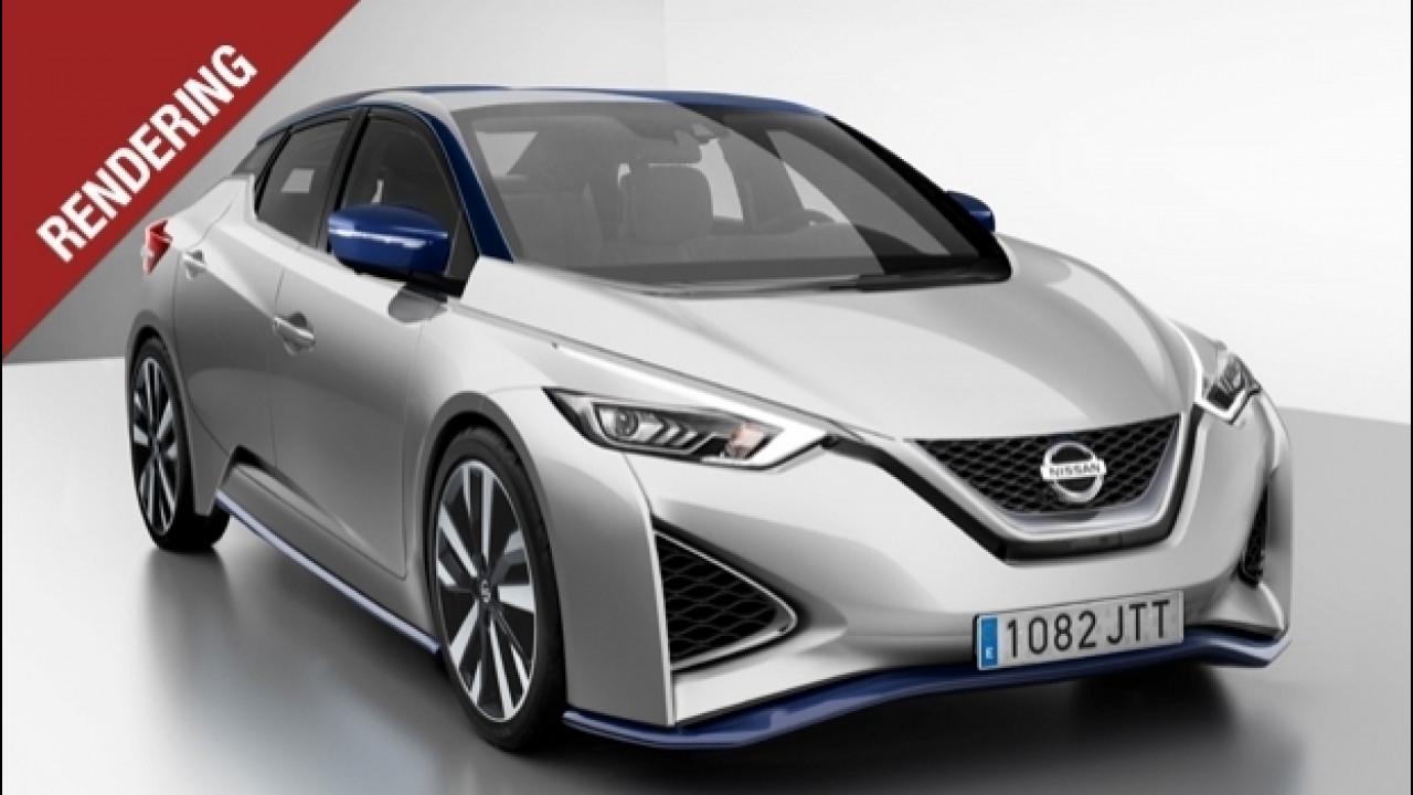 [Copertina] - Nuova Nissan Leaf, elettrica anche nelle forme
