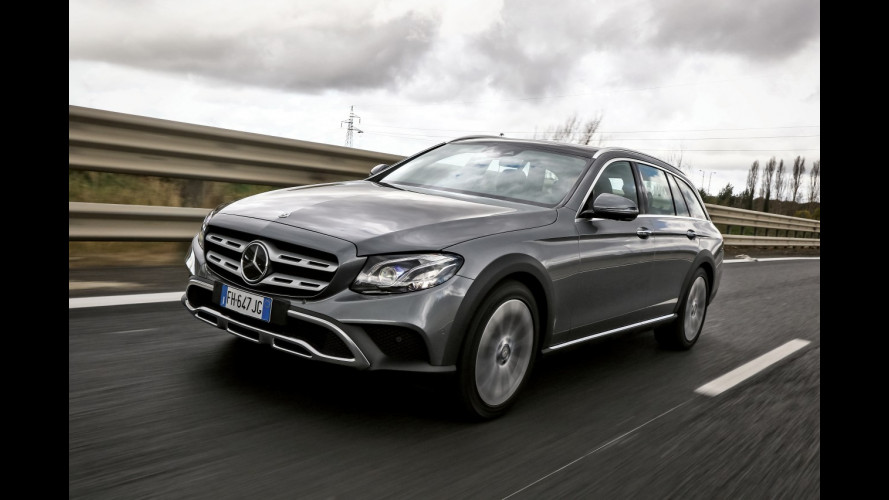 Cinque optional che fanno la differenza sulla Mercedes Classe E All-Terrain  [VIDEO]