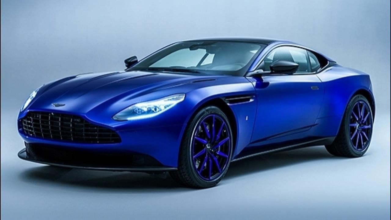 [Copertina] - DB11 Q by Aston Martin, una perla blu a Ginevra