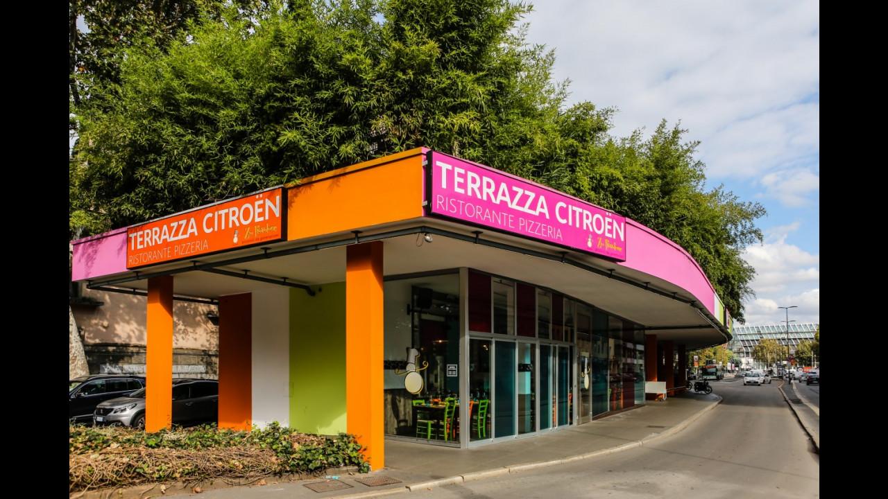 Terrazza Citroen, il ristorante al centro di Milano 001