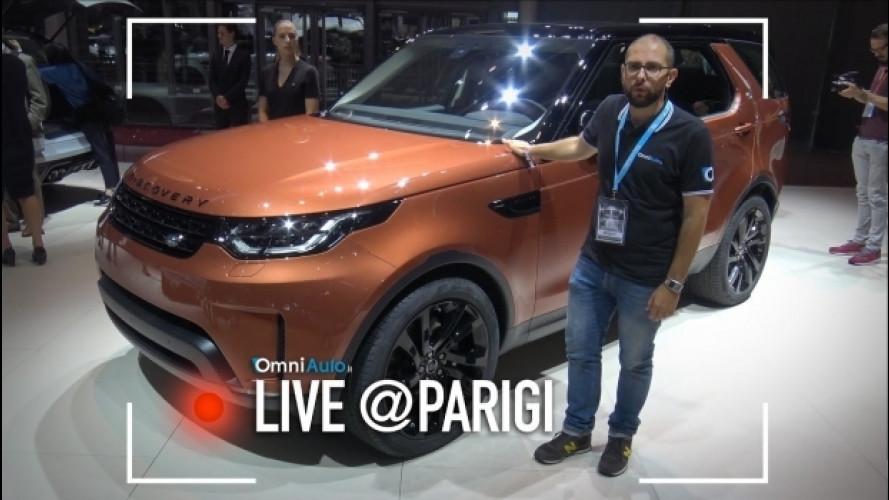 Salone di Parigi, a tu per tu con la Land Rover Discovery  [VIDEO]