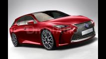 Nuova Lexus CT, il rendering 006