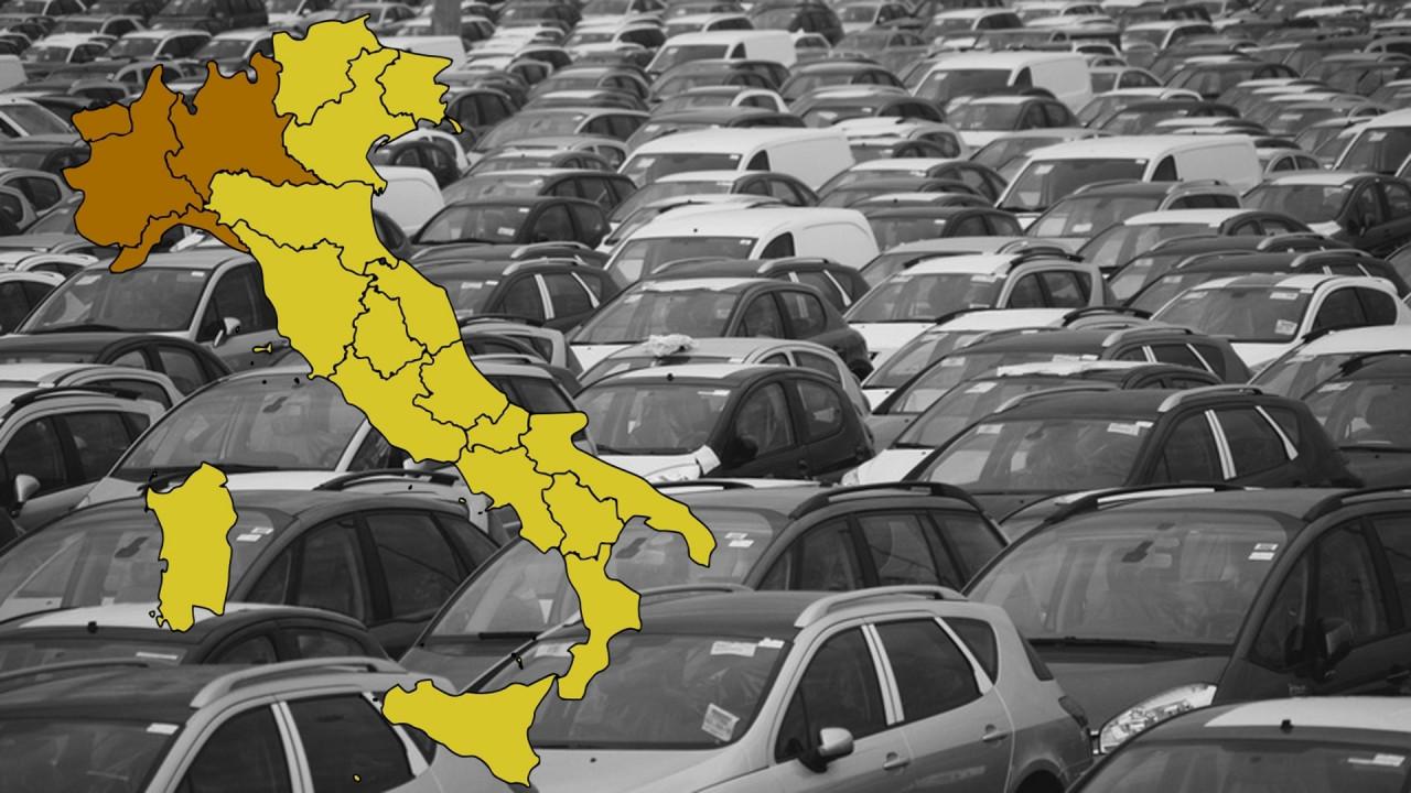 [Copertina] - Mercato auto, la Valle d'Aosta e il Trentino trainano l'Italia