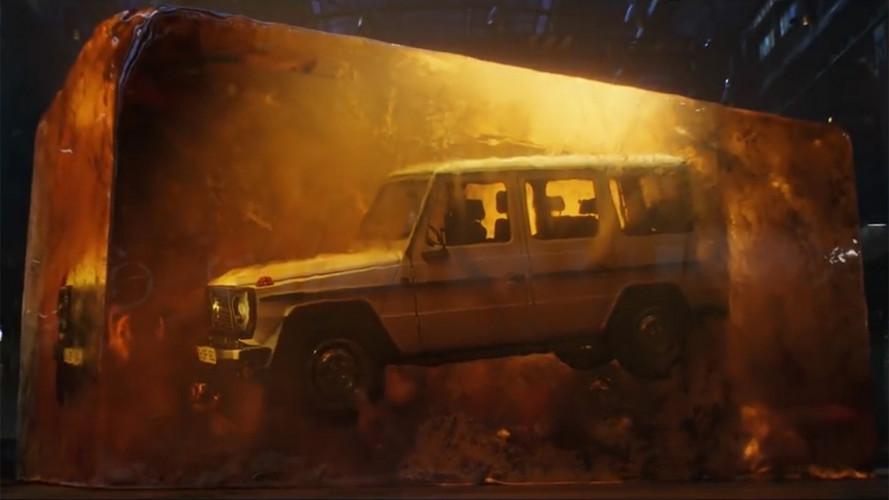 Mercedes Nuova Classe G, un video teaser giurassico