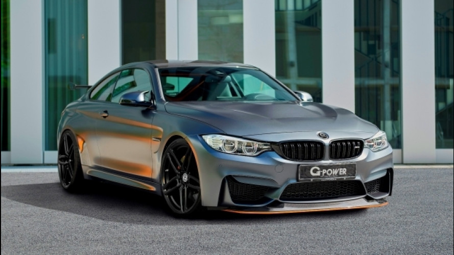 BMW M4 GTS by G-Power, ora arriva a ben 615 CV