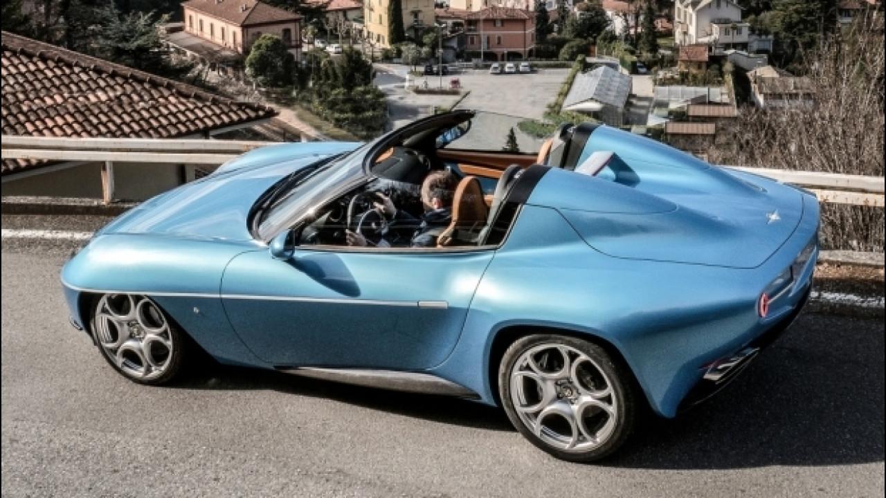 [Copertina] - Disco Volante Spyder by Touring vola in America