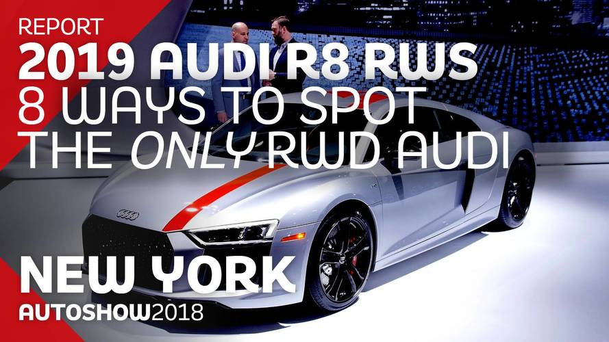 8 Ways You Can Spot The RWD Audi R8 RWS On The Road