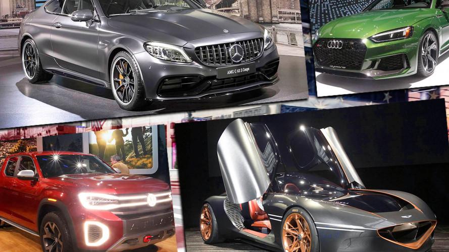 Die Stars der New York Auto Show 2018