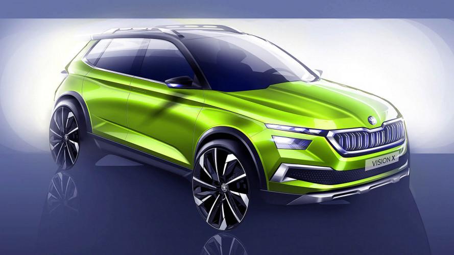 Skoda Vision X auf dem Genfer Autosalon 2018