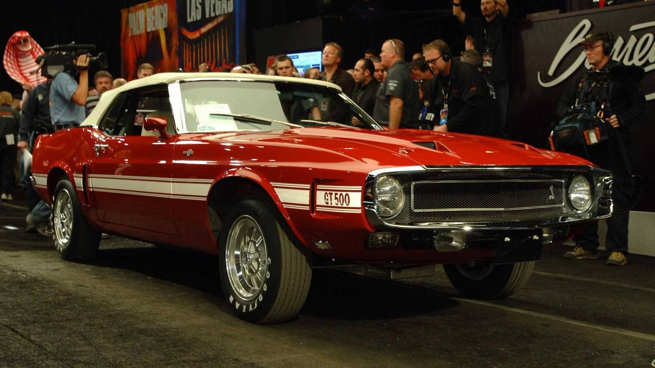 6. 1969 Shelby GT500 Convertible - $742,500