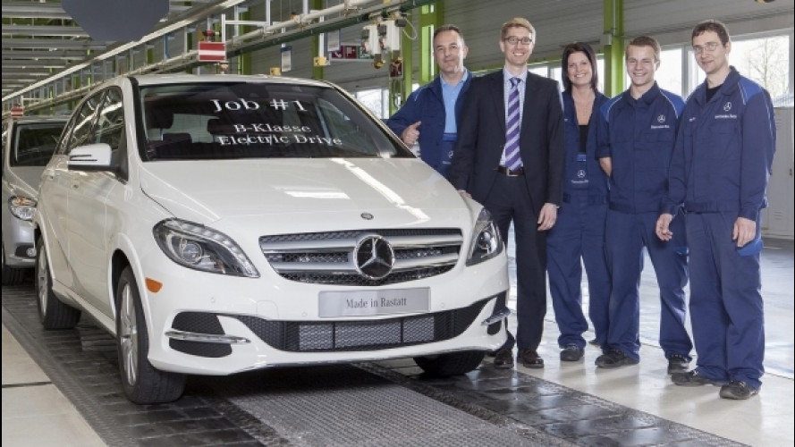 Mercedes si prepara al futuro elettrico