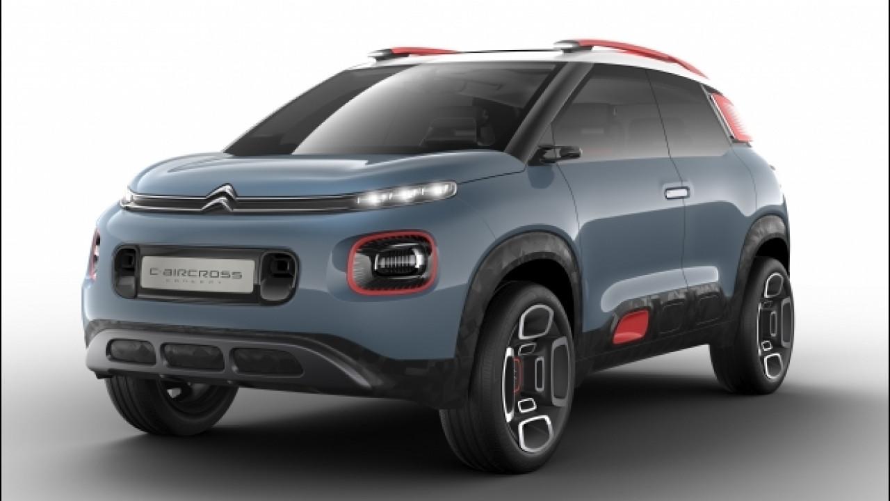 [Copertina] - Citroen C-Aircross Concept, il nuovo SUV compatto [VIDEO]