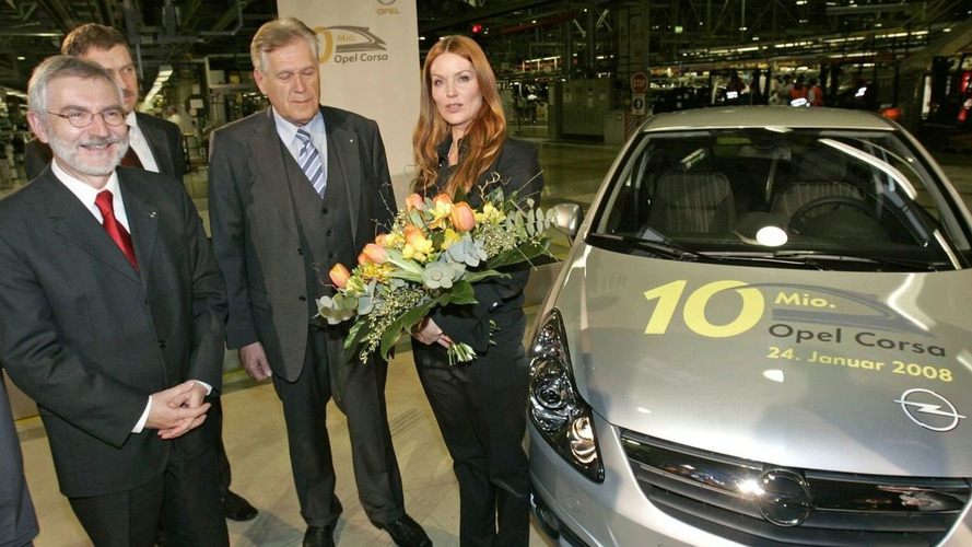 Ten-Millionth Opel Corsa Is Built In Eisenach