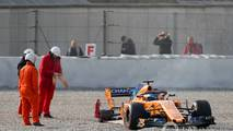Fernando Alonso, con el McLaren MCL33