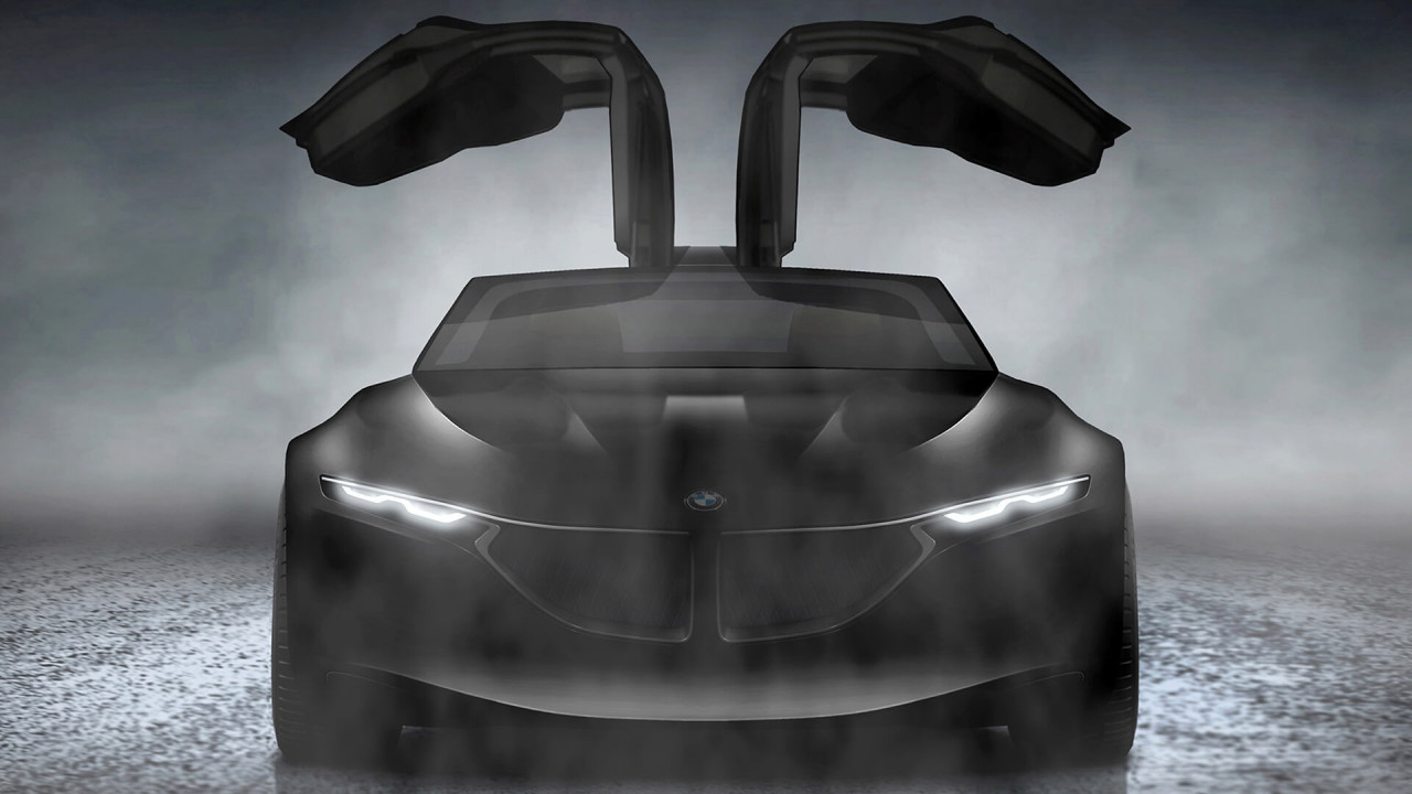 BMW GCS: Flügeltüren