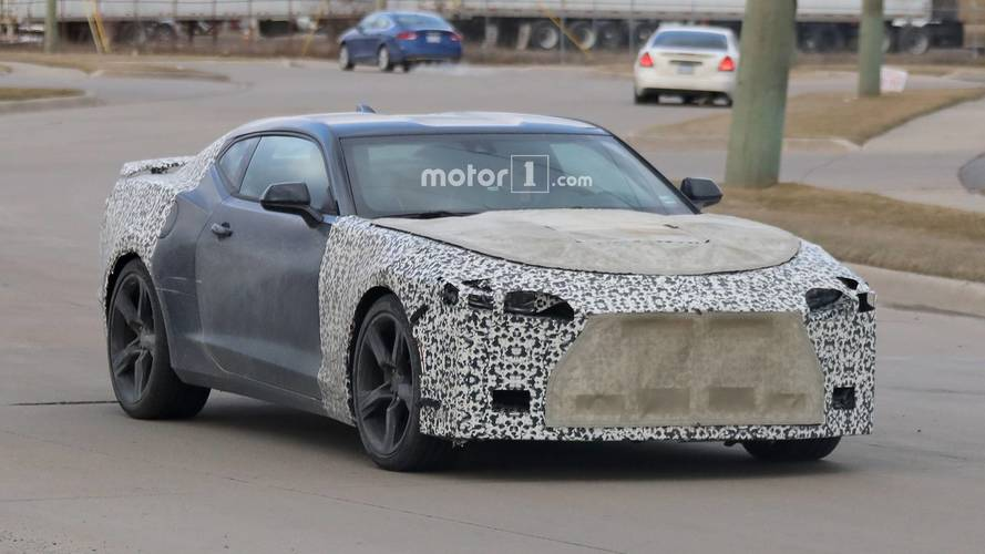 2019 Chevy Camaro Spied Showing Off Its Interior