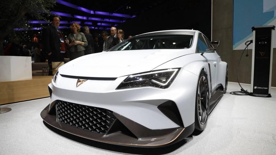 Cupra e-Racer Live From Geneva Motor Show