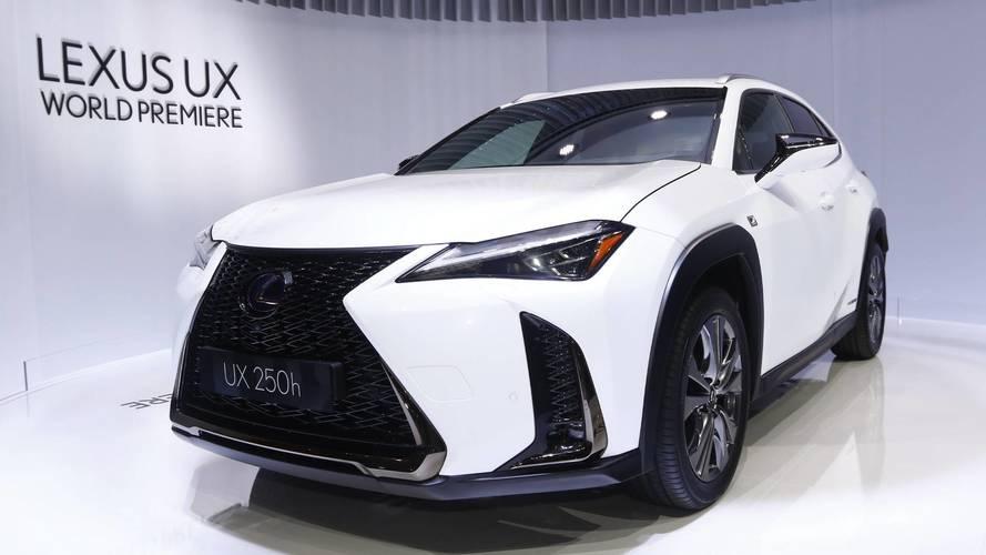 Lexus venderá SUV UX no Brasil em 2019