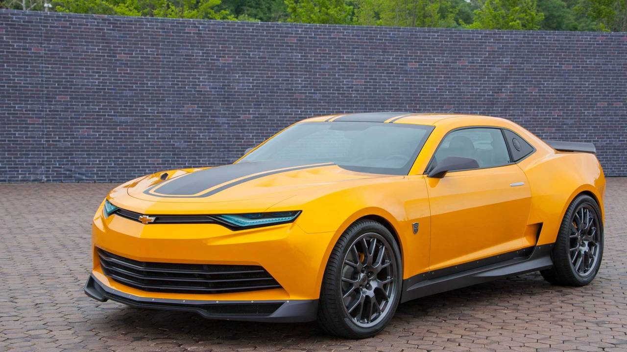 Good: Chevrolet Camaro in Transformers