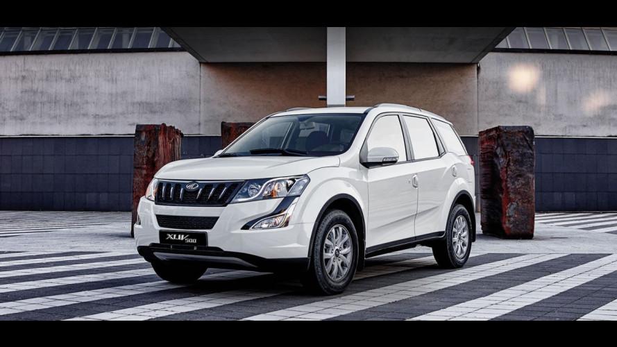 Mahindra XUV500 si rifà il look con il MY 2017 e diventa Euro 6