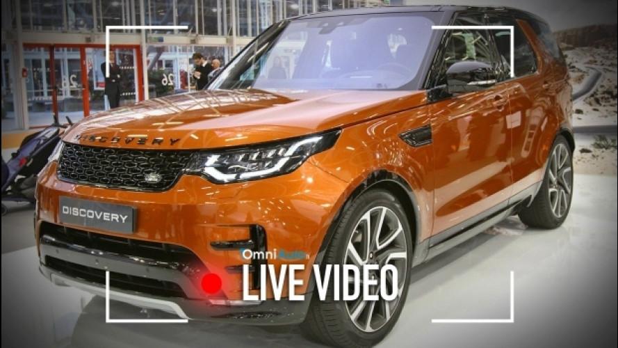 Jaguar e Land Rover, un Motor Show in versione integrale [VIDEO]
