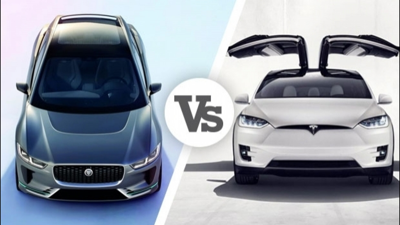 [Copertina] - Jaguar I-Pace VS Tesla Model X