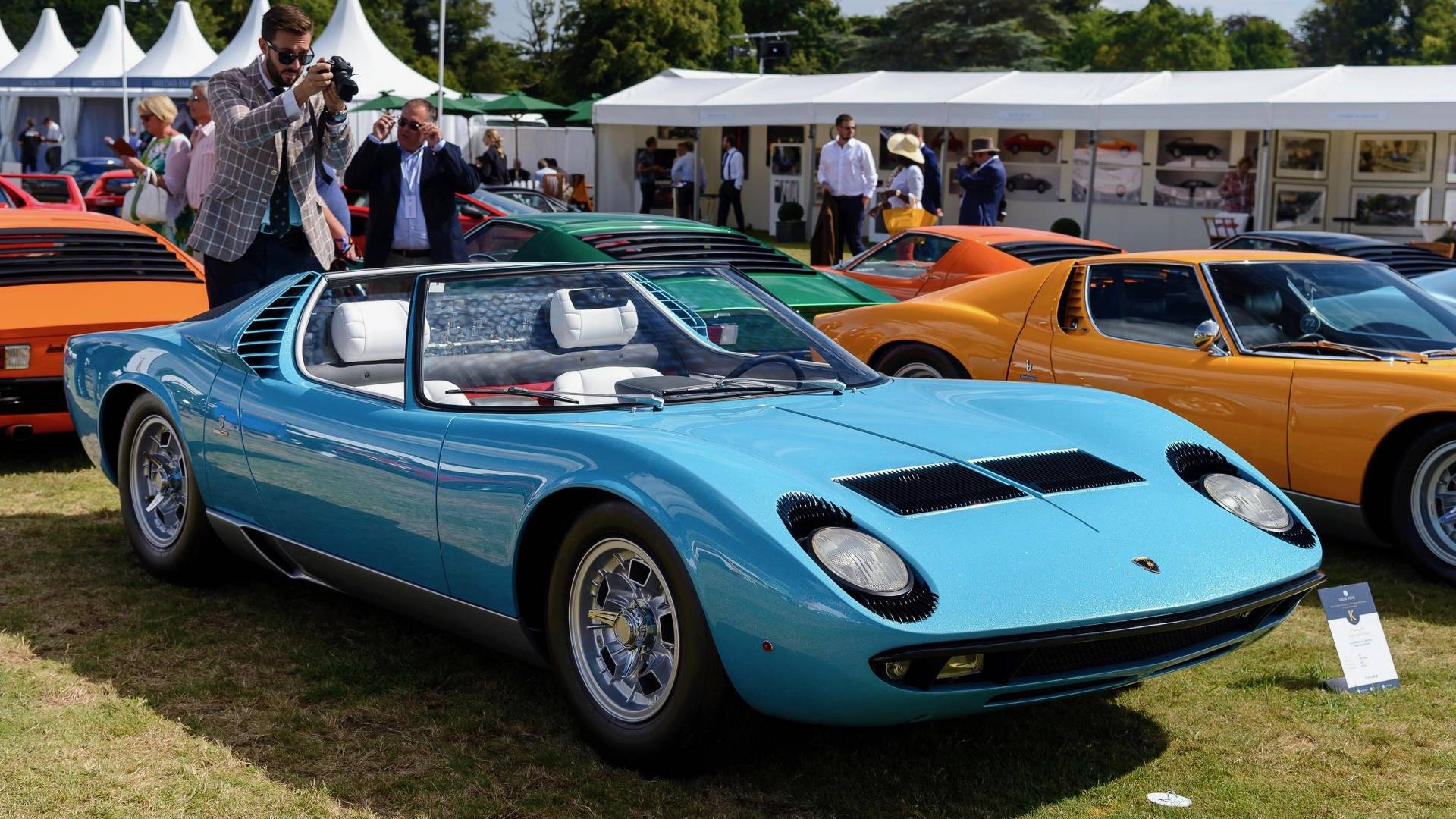Meet The World\'s Only Lamborghini Miura Roadster