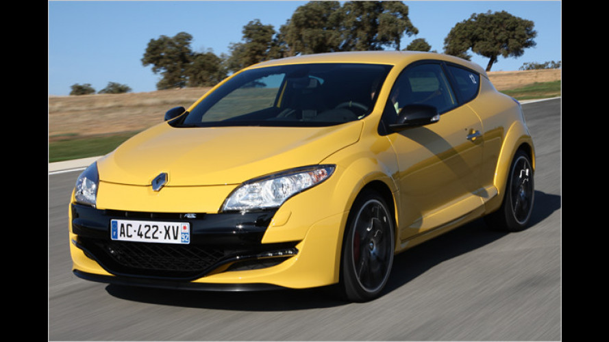 Ab auf die Piste: Renault Mégane Coupé R.S. im Test
