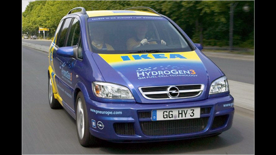 GM-HydroGen: Auf dem Weg zum Null-Emissionsauto