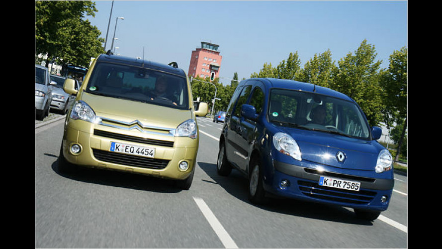 Renault Kangoo und Citroën Berlingo: Zwei Raumwunder im Vergleich