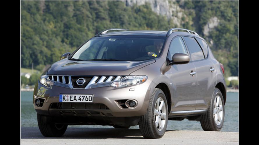 Edler Selbstheiler: Der neue Nissan Murano im Test