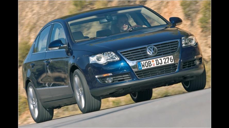 Volkswagen bietet für den Passat ein Technologie-Paket an