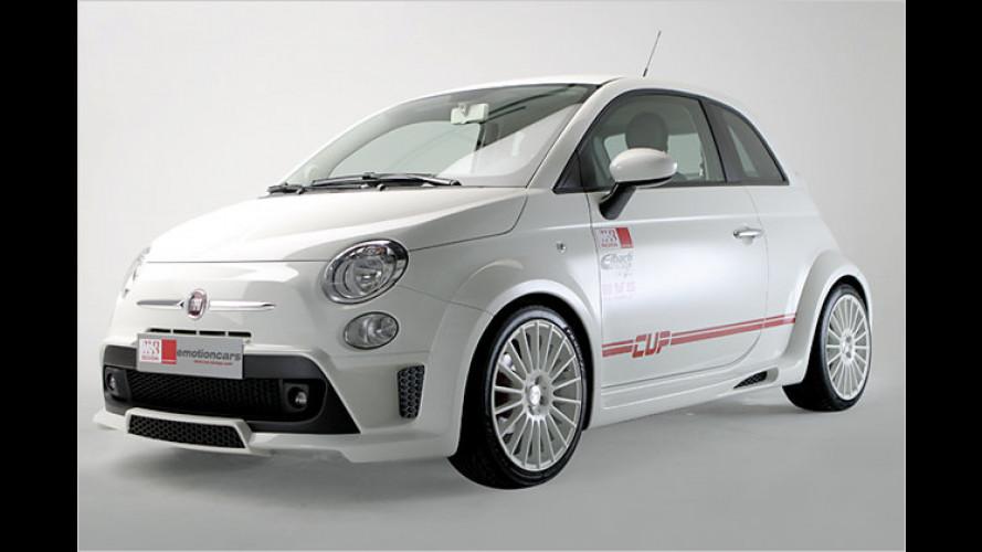 Endlich auch für Männer: Der Fiat 500 Cup von MS Design