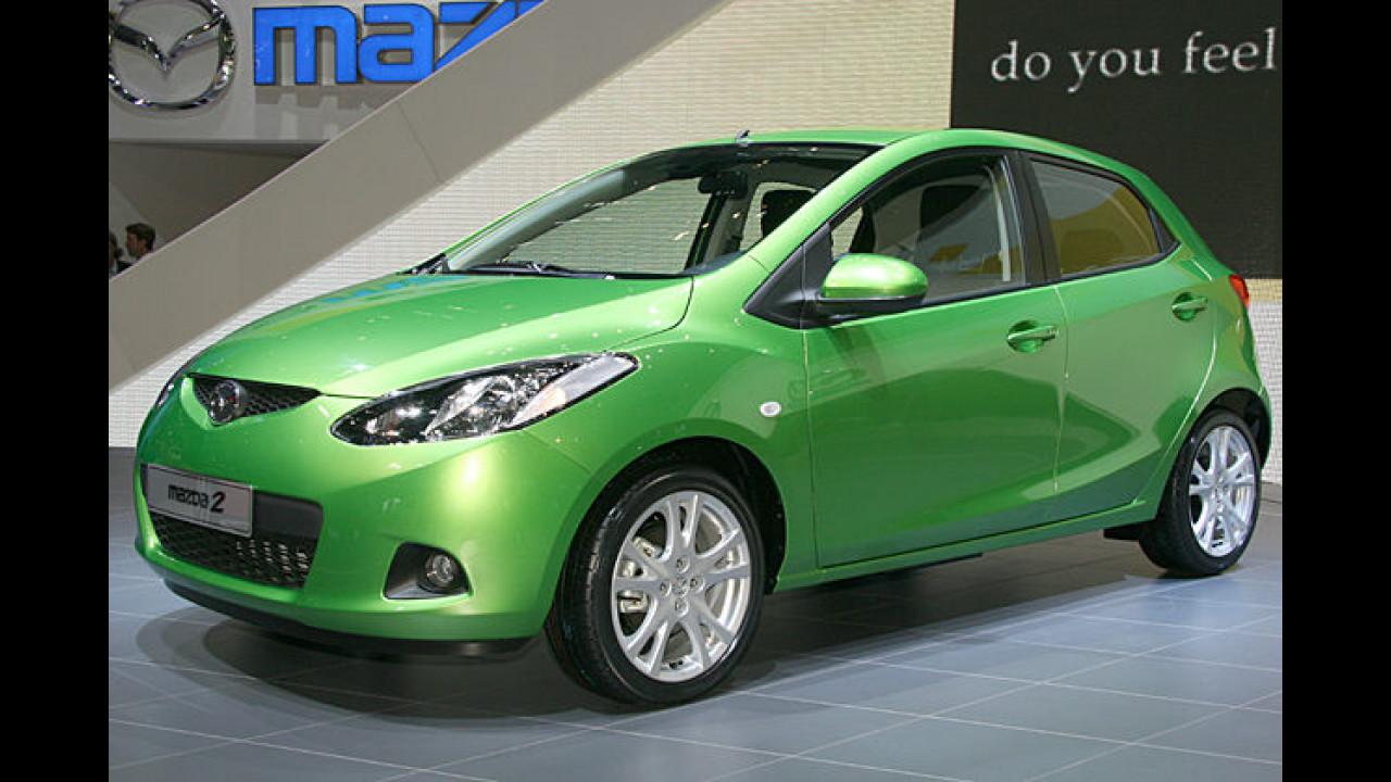 Neues aus Fernost: Der Mazda 2 kommt deutlich frischer als sein Vorgänger daher