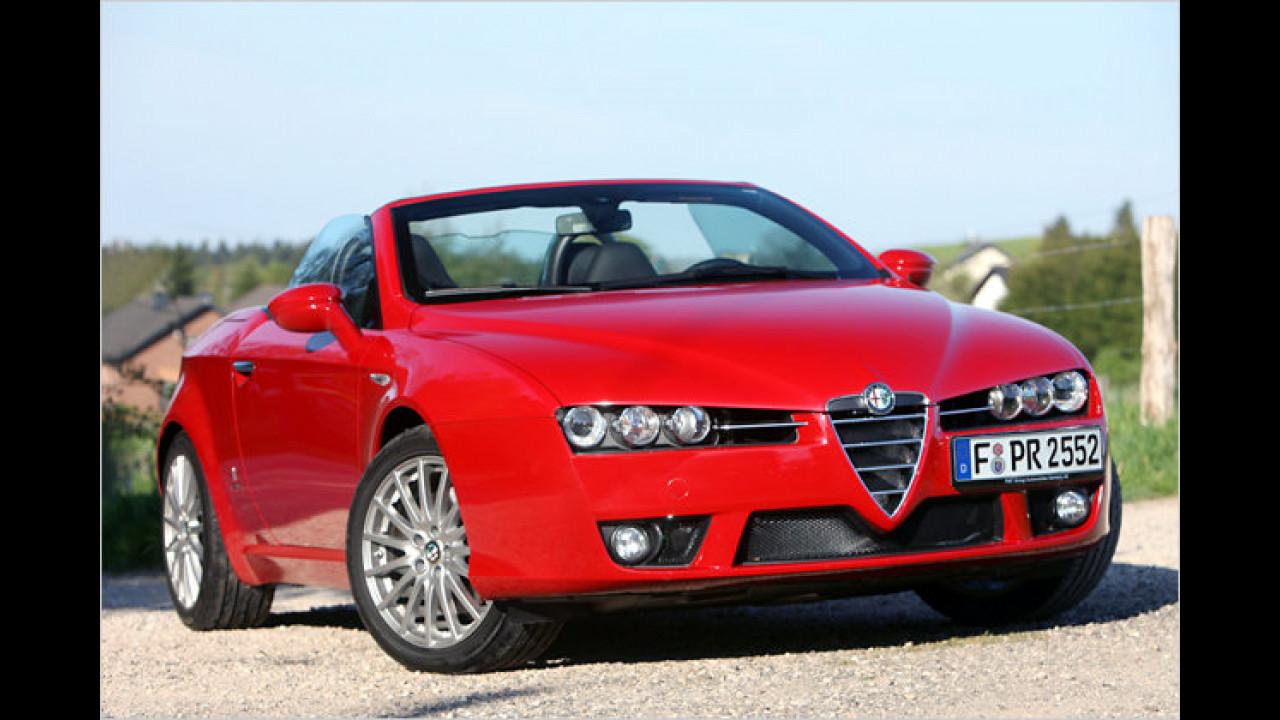 Alfa Romeo: Die häufigste Farbe ist Schwarz